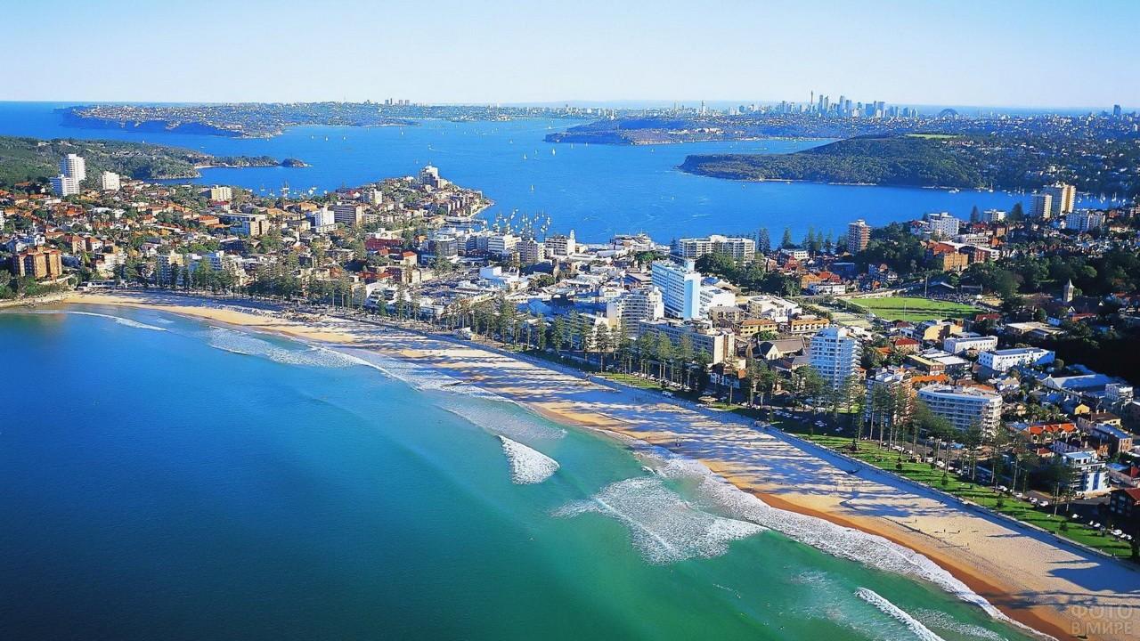 Городской пляж в Сиднее