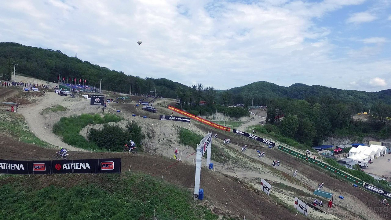 Чемпионат мира по мотокроссу в автогородке Орлёнка