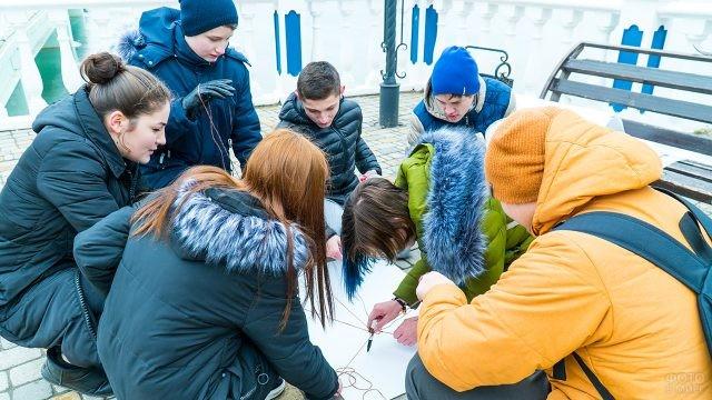 Студенты колледжа участвуют в творческом конкурсе
