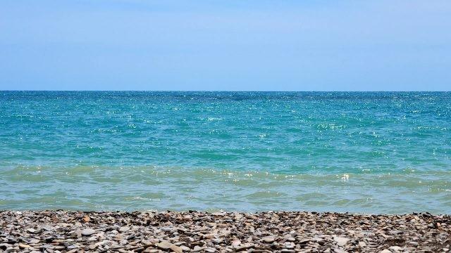 Тихая гладь Чёрного моря