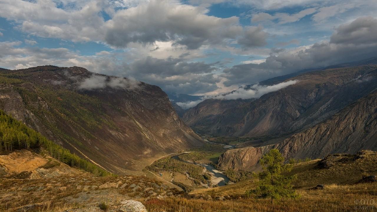 Чулышманский каньон в Алтайском заповеднике