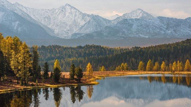 Озеро Киделю на горном Алтае