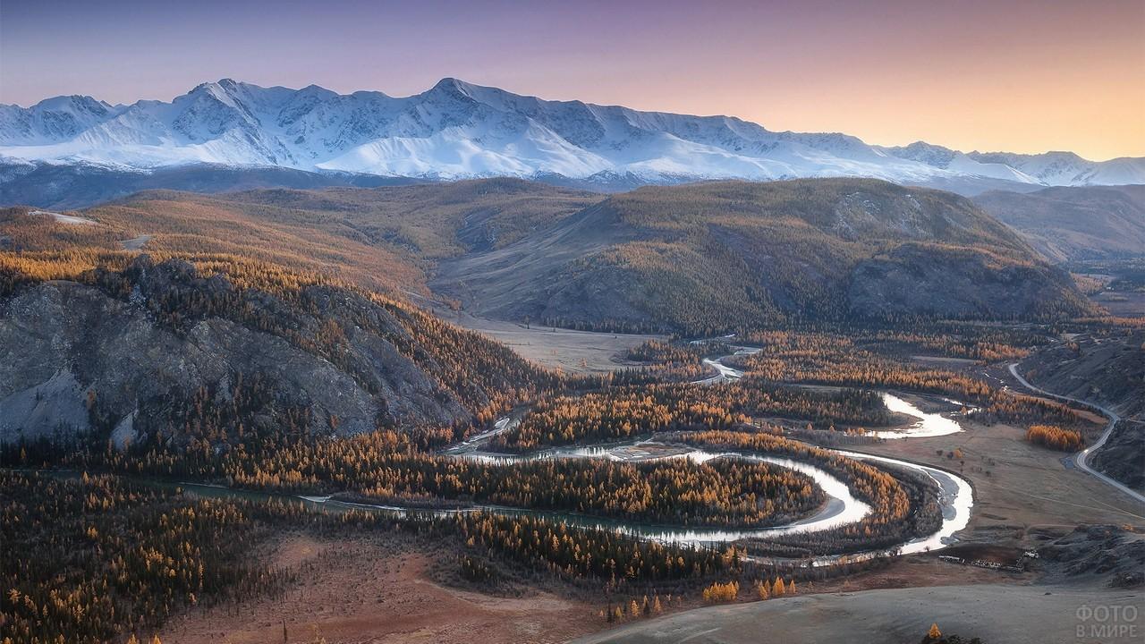Северо-Чуйский хребет Алтайского заповедника