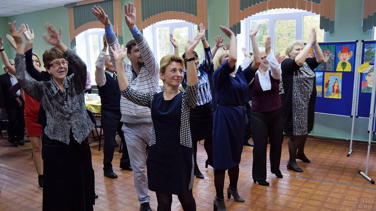 Танцевальный флешмоб для педагогов в День учителя