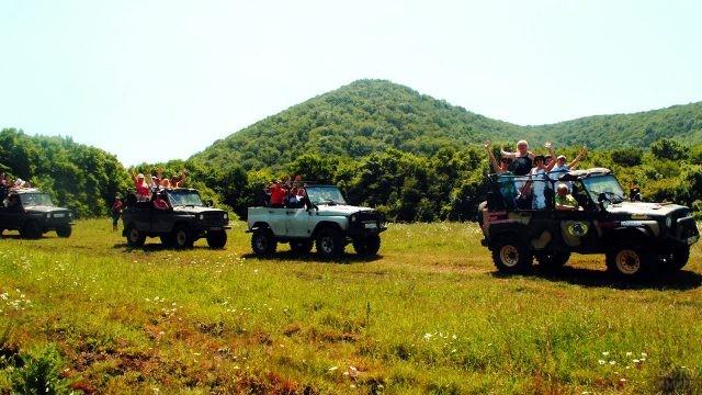 Джиппинг к горе Шапсуг