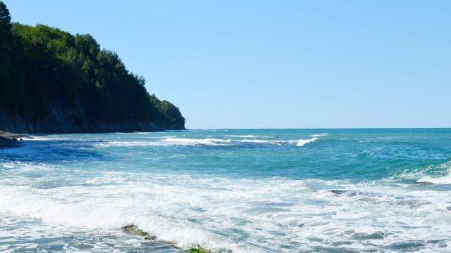 Морской пейзаж у мыса Кадош