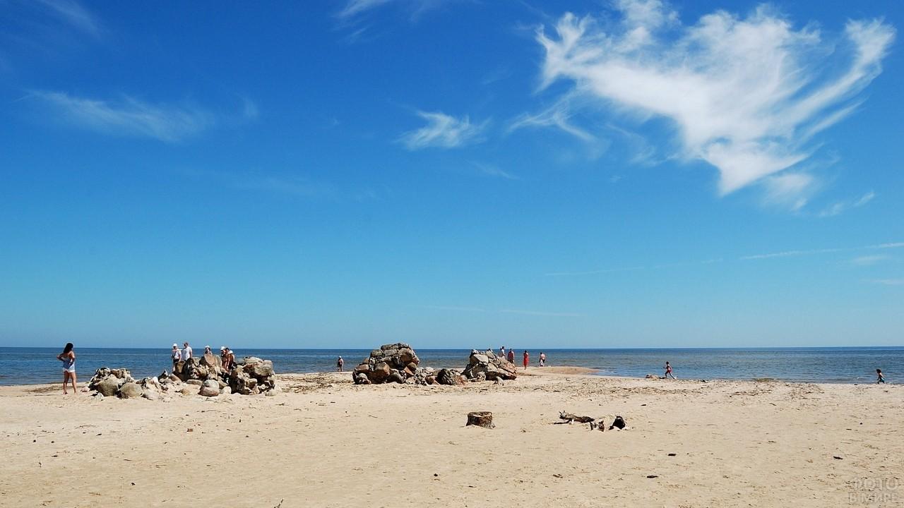 Побережье Рижского залива