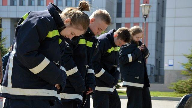 Соревнования студентов-спасателей