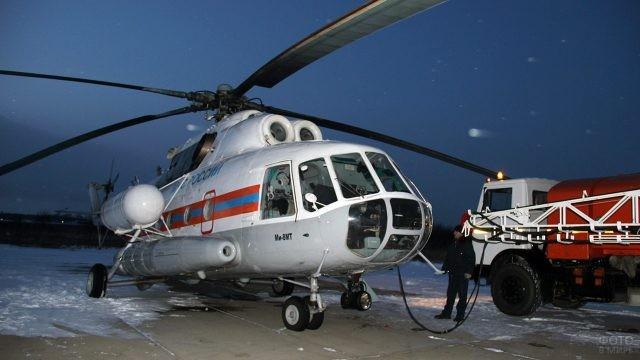 Вертолёт Ми-8 МЧС России