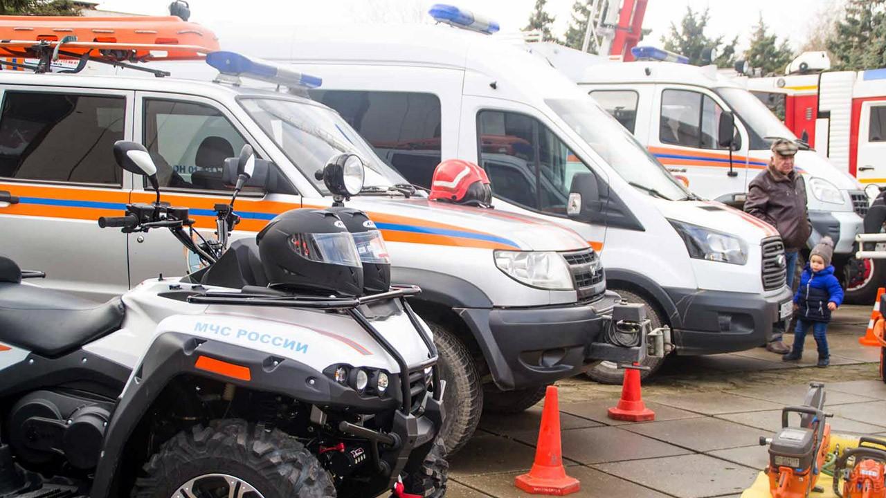 Выставка спасательной техники