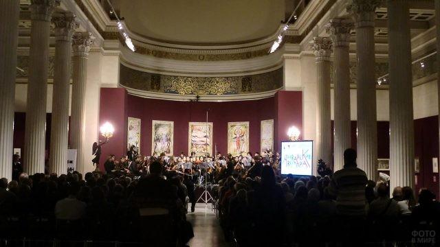 Концерт в Белом зале Пушкинского музея