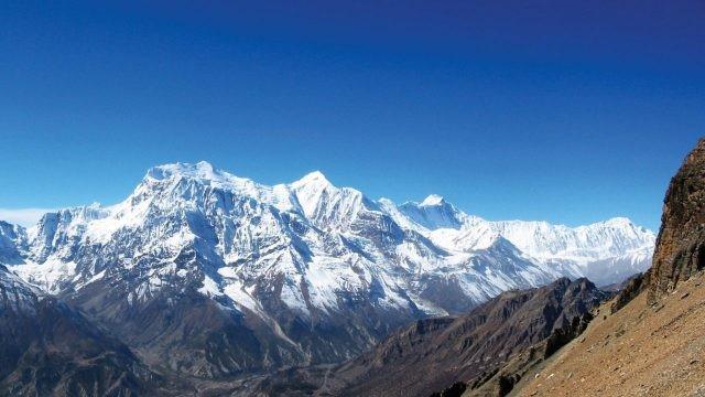Прекрасный горный пейзаж Непала