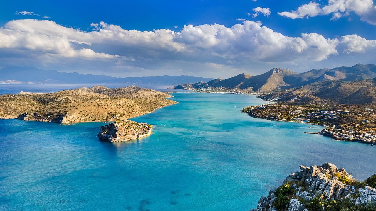 Остров Крит в Средиземном море