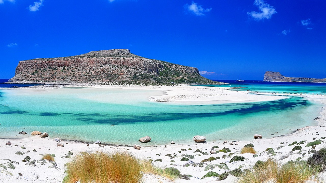 Пляж Балос на острове Крит