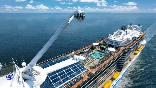 Развлечение на пассажирском лайнере