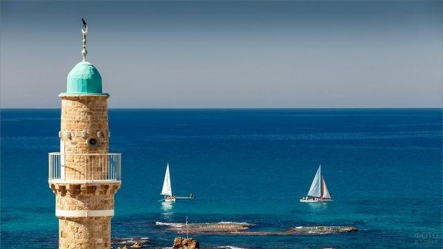 Смотровая башня в Тунисе