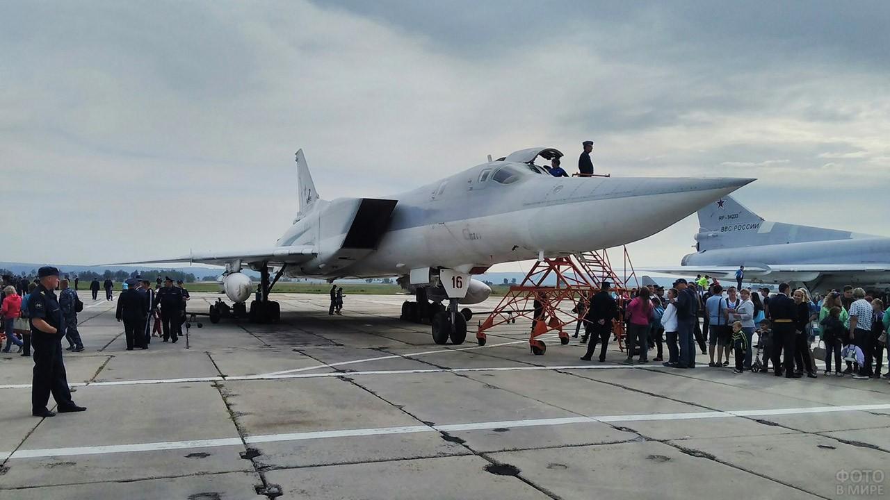 День ВВС на авиабазе под Иркутском