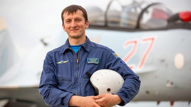 Военный лётчик ВВС России