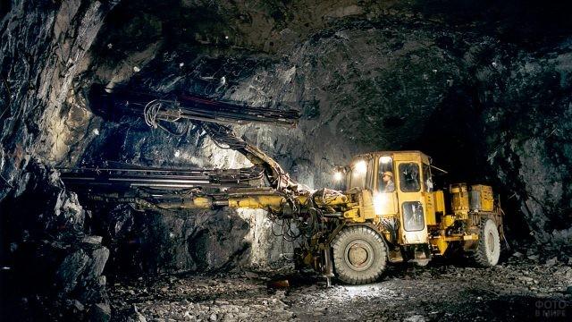 Подземная разработка месторождений