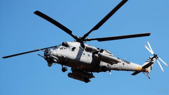 Боевой вертолёт ВДВ