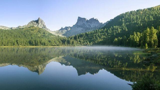 Туман над Светлым озером