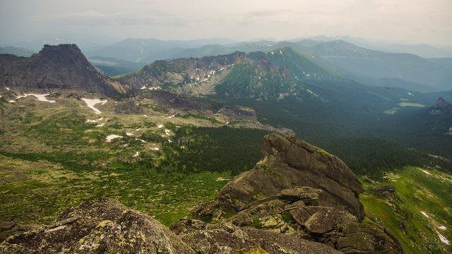 Западные Саяны на юге Красноярского края