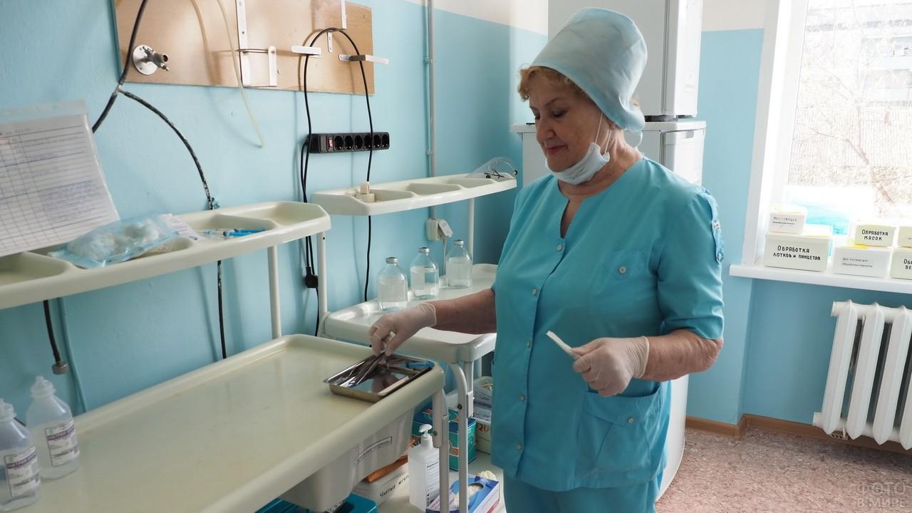 Медицинская сестра реанимационного отделения