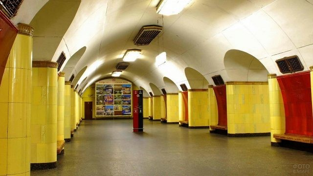 Рижская станция в Московском метро