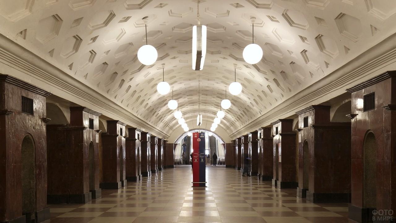 Станция Красные Ворота в Московском метро