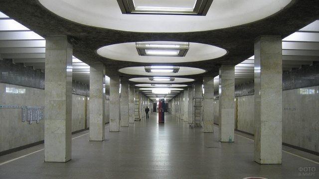 Станция Орехово в Московском метро