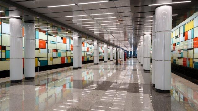 Станция Румянцево в Московском метро