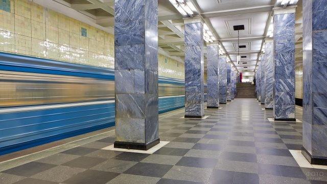 Станция Сокольники в Московском метро