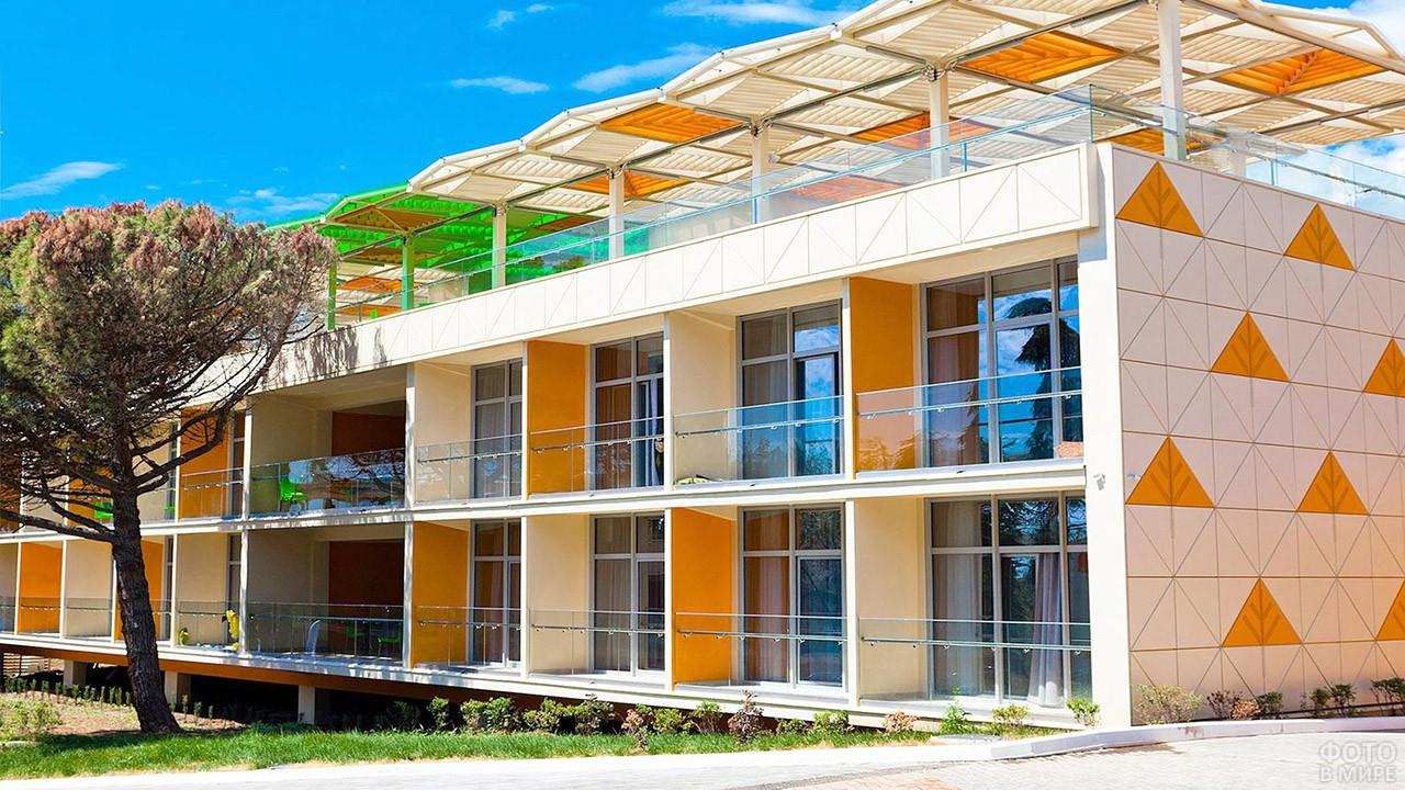 Современный жилой корпус