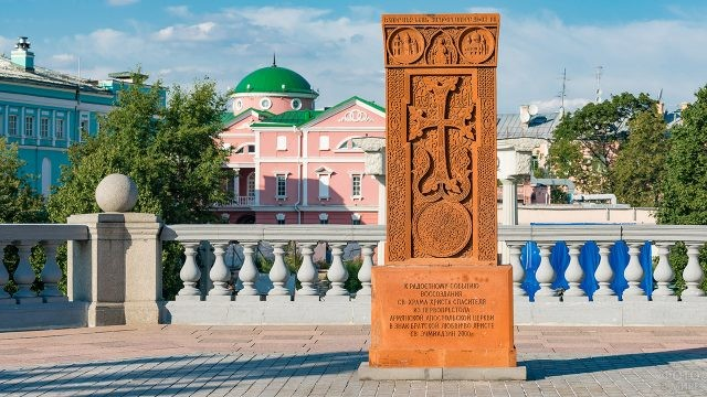Хачкар - армянский крест-камень