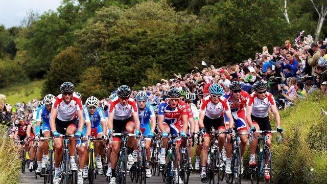 Велосипедисты на Тур де Франс