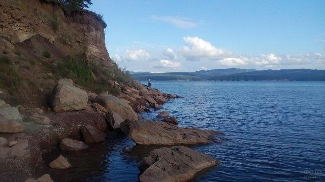 Никиткин мыс на Красноярском море