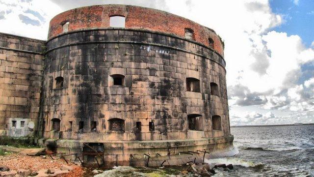 Чумной форт в Кронштадте