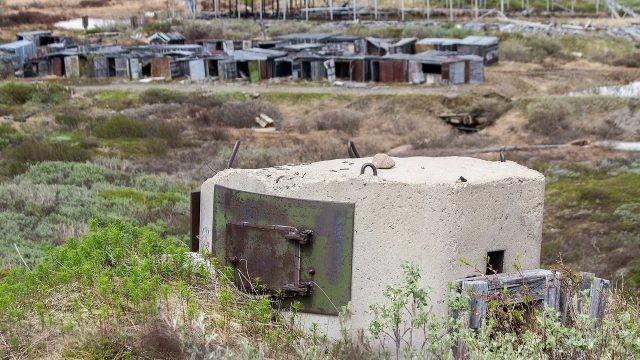 Военная база Гудым на Чукотке
