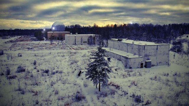 Заброшенная военная база противоракетных войск