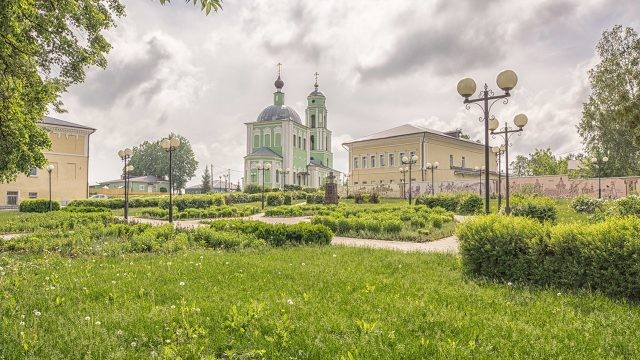 Живописный центр Козельска