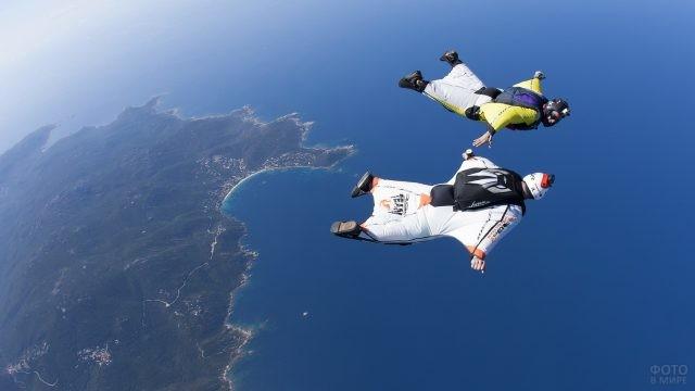 Экстремальный полёт над океаном
