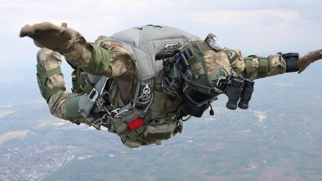 Солдат в свободном падении