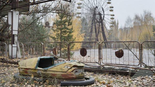 Парк аттракционов в Припяти