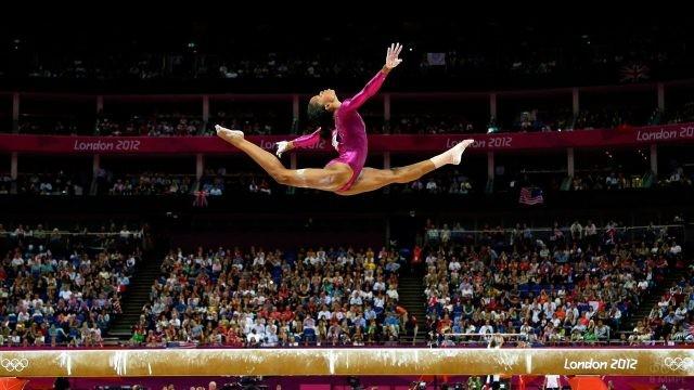 Спортсменка на Олимпийских Играх