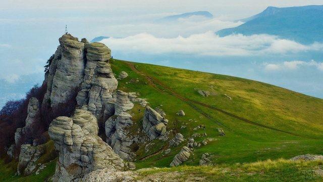 Гора Джемерджи в Крыму