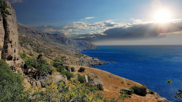 Южная природа побережья Крыма