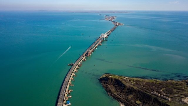 Керченский мост через залив