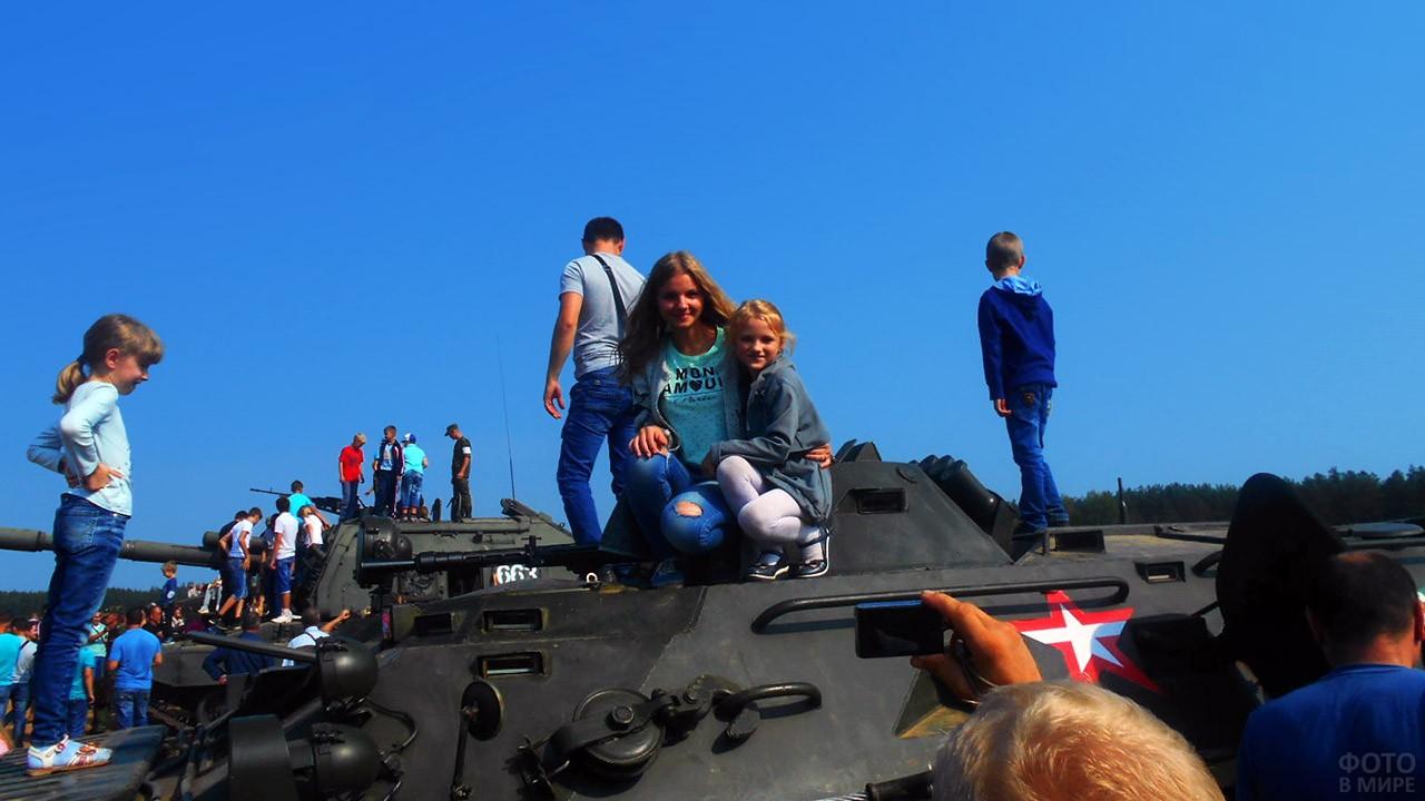 День танкиста в Брянской области