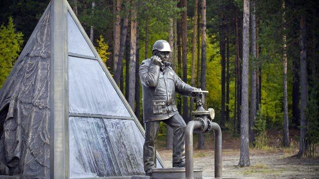 Памятник нефтяникам в Ноябрьске