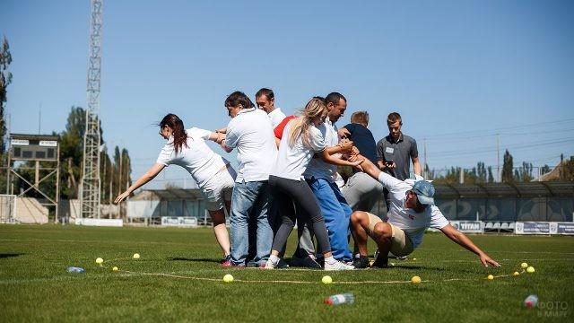 Спортивный тимбилдинг для сотрудников нефтегазовой промышленности в их профессиональный праздник